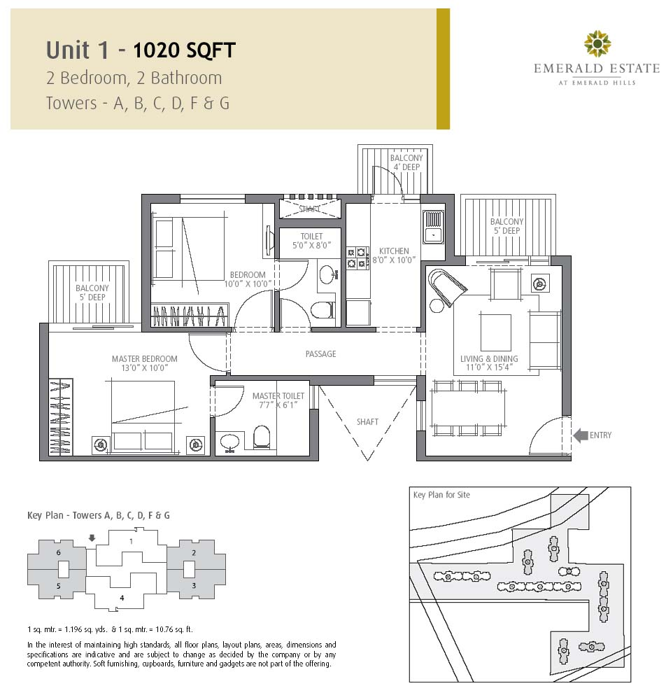 Emerald park condos floor plans emerald park condos for 18 yonge floor plan