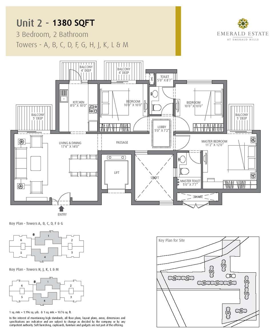 Emerald Estate Floor Plan